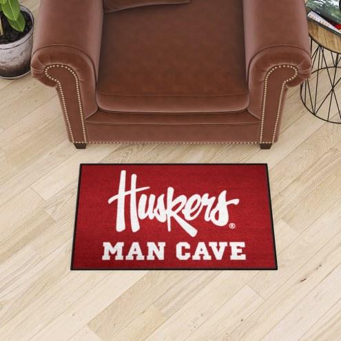 Nebraska Cornhuskers NCAA Man Cave Starter Mat