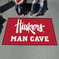 Nebraska Cornhuskers NCAA Man Cave Ulti-Mat Rug