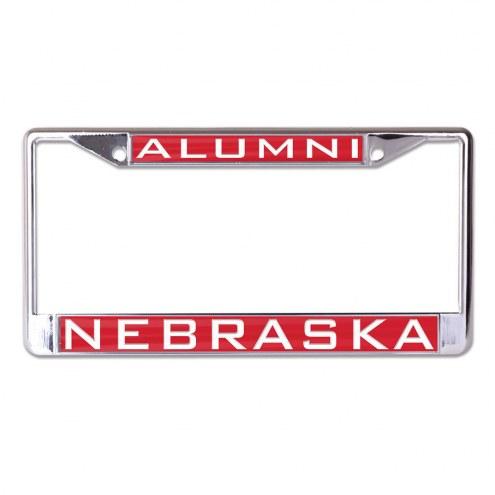 Nebraska Cornhuskers Metal License Plate Frame