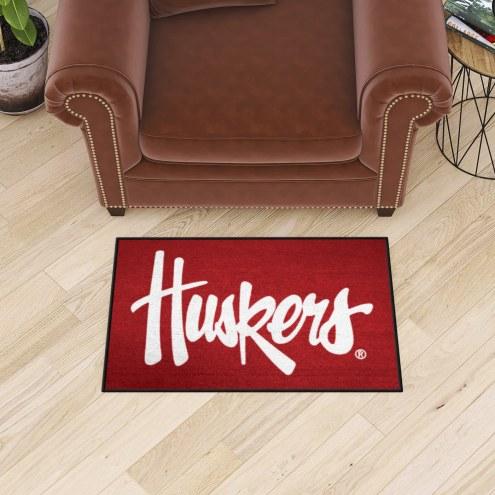 Nebraska Cornhuskers NCAA Starter Rug