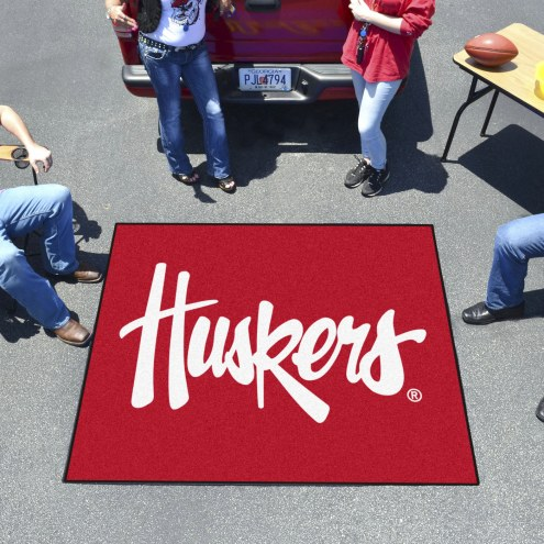 Nebraska Cornhuskers NCAA Tailgate Mat