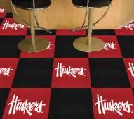 Nebraska Cornhuskers NCAA Team Carpet Tiles