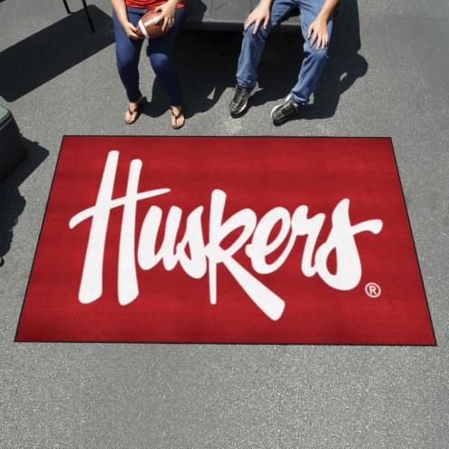 Nebraska Cornhuskers NCAA Ulti-Mat Area Rug