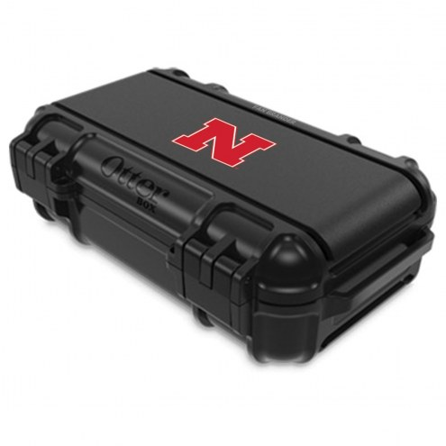 Nebraska Cornhuskers OtterBox Black Drybox Phone Holder
