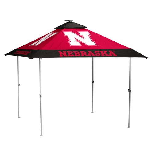 Nebraska Cornhuskers Pagoda Tent with Lights