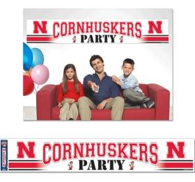 Nebraska Cornhuskers Party Banner