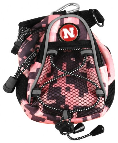 Nebraska Cornhuskers Pink Digi Camo Mini Day Pack