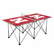 Nebraska Cornhuskers Pop Up 6' Ping Pong Table
