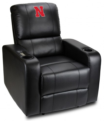 Nebraska Cornhuskers Power Theater Recliner