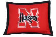 Nebraska Cornhuskers Printed Pillow Sham