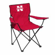 Nebraska Cornhuskers Quad Folding Chair