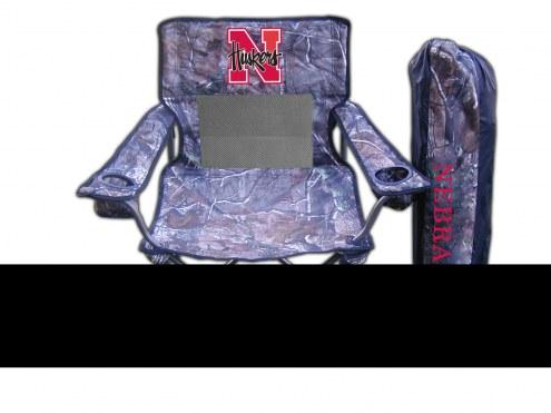Nebraska Cornhuskers RealTree Camo Tailgating Chair