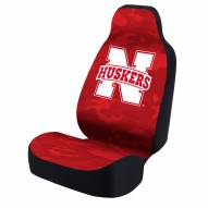 Nebraska Cornhuskers Red Camo Universal Bucket Car Seat Cover