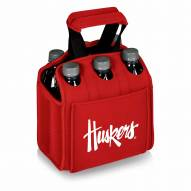Nebraska Cornhuskers Red Six Pack Cooler Tote