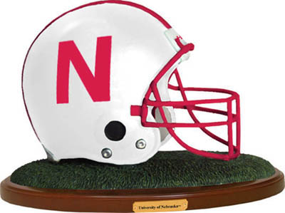 Nebraska Cornhuskers Collectible Football Helmet Figurine