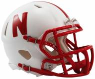 Nebraska Cornhuskers Riddell Speed Mini Collectible Football Helmet