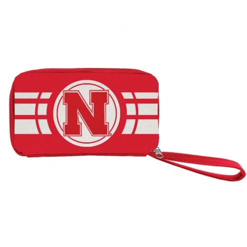 Nebraska Cornhuskers Ripple Zip Wallet