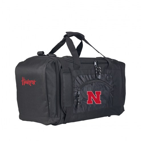 Nebraska Cornhuskers Roadblock Duffle Bag