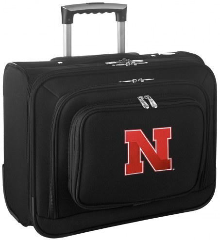 Nebraska Cornhuskers Rolling Laptop Overnighter Bag