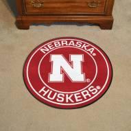 Nebraska Cornhuskers Rounded Mat