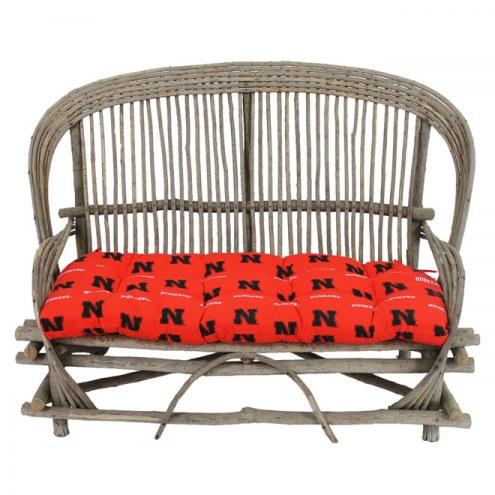 Nebraska Cornhuskers Settee Chair Cushion