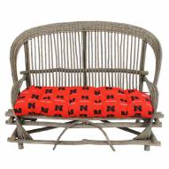 Nebraska Cornhuskers Settee Chair Cushion