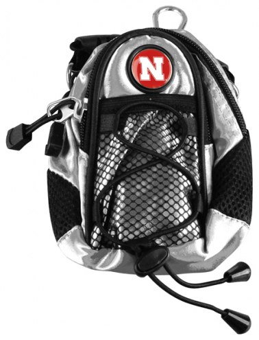 Nebraska Cornhuskers Silver Mini Day Pack