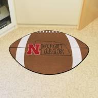 Nebraska Cornhuskers Southern Style Football Floor Mat