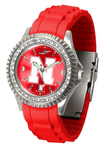 Nebraska Cornhuskers Sparkle Women's Watch