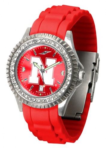 Nebraska Cornhuskers Sparkle Women's Watch