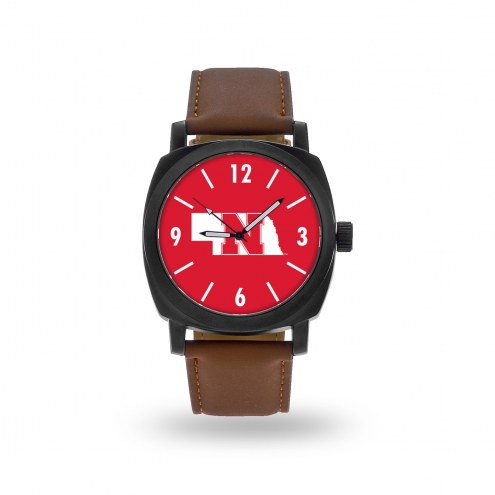 Nebraska Cornhuskers Sparo Men's Knight Watch