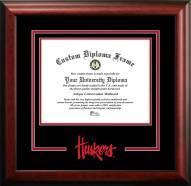 Nebraska Cornhuskers Spirit Diploma Frame