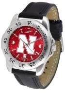 Nebraska Cornhuskers Sport AnoChrome Men's Watch