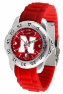 Nebraska Cornhuskers Sport Silicone Men's Watch