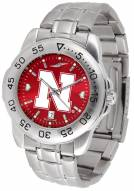 Nebraska Cornhuskers Sport Steel AnoChrome Men's Watch