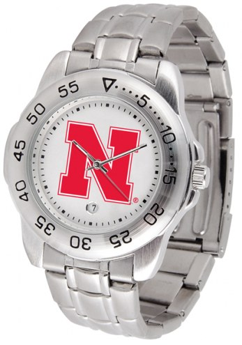 Nebraska Cornhuskers Sport Steel Men's Watch
