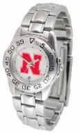 Nebraska Cornhuskers Sport Steel Women's Watch