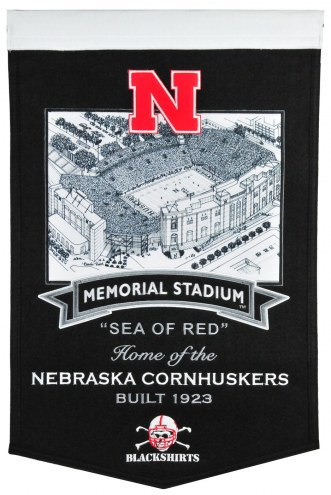 Nebraska Cornhuskers Stadium Banner