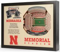 Nebraska Cornhuskers 25-Layer StadiumViews 3D Wall Art