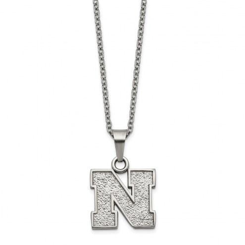 Nebraska Cornhuskers Stainless Steel Pendant Necklace