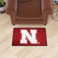 Nebraska Cornhuskers Starter Rug