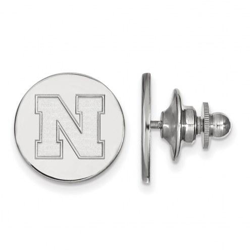 Nebraska Cornhuskers Sterling Silver Lapel Pin