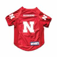 Nebraska Cornhuskers Stretch Dog Jersey