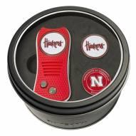 Nebraska Cornhuskers Switchfix Golf Divot Tool & Ball Markers