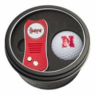 Nebraska Cornhuskers Switchfix Golf Divot Tool & Ball