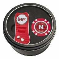 Nebraska Cornhuskers Switchfix Golf Divot Tool & Chip
