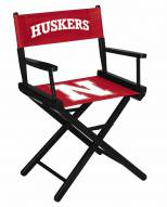 Nebraska Cornhuskers Table Height Director's Chair