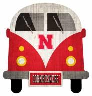 Nebraska Cornhuskers Team Bus Sign