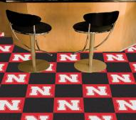 Nebraska Cornhuskers Team Carpet Tiles
