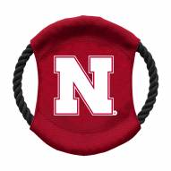 Nebraska Cornhuskers Team Frisbee Dog Toy